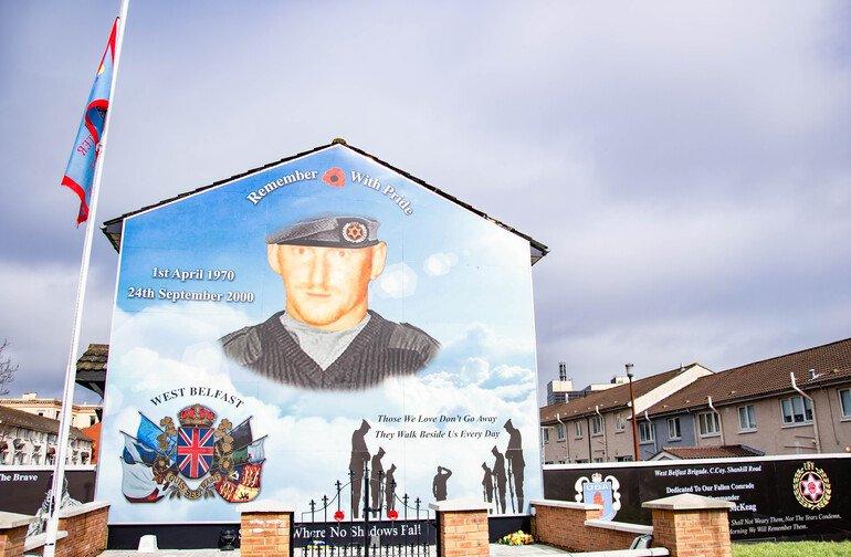 Shankill Road - Murales de Belfast