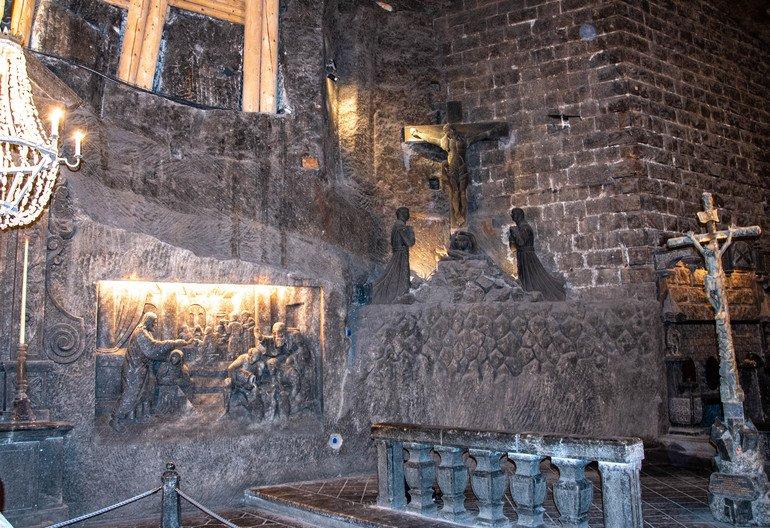 Capilla Santa Kinga - Minas de sal de Wieliczka