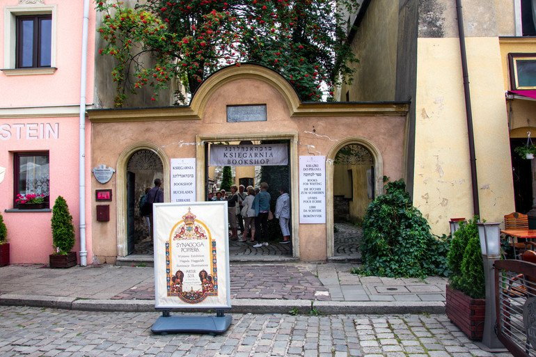Sinagoga Popper - El barrio judío de Cracovia