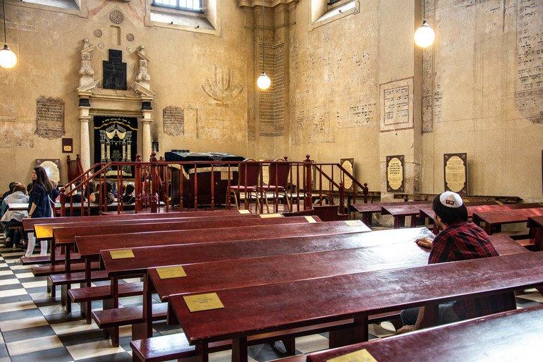 Sinagoga de Isaac- El barrio judío de Cracovia