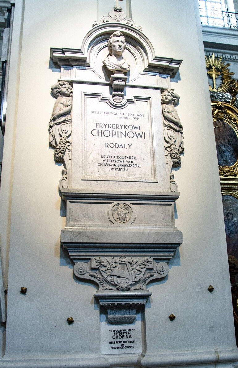 Iglesia de la Santa Cruz - Que ver en Varsovia
