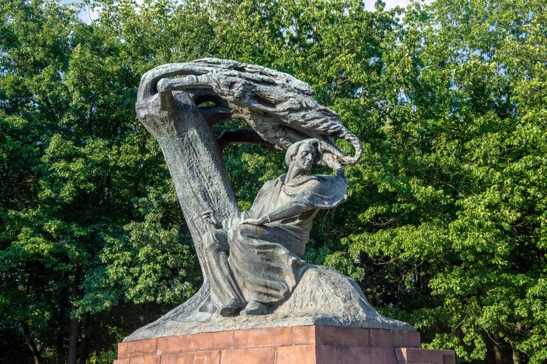 Parque Real Lazienki - Que ver en Varsovia
