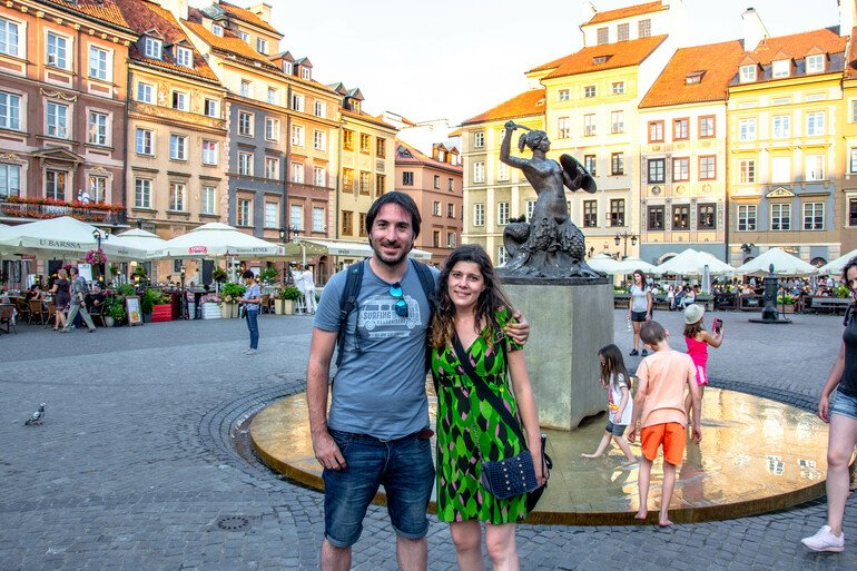 Plaza del Mercado - Que ver en Varsovia