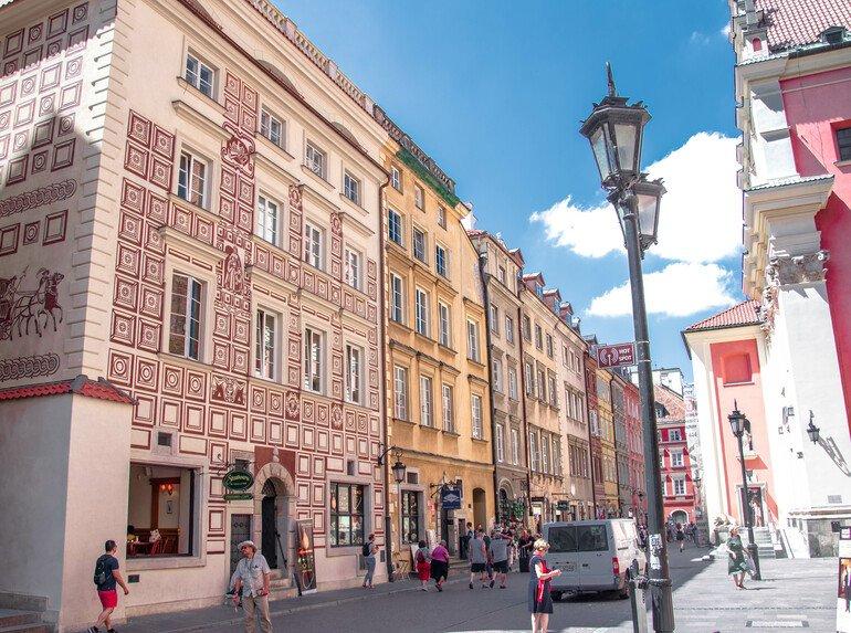 Calle Piwna - Que ver en Varsovia