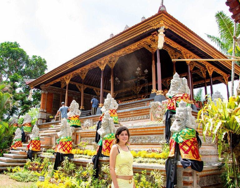 Interior del Palacio Real - Que hacer en Ubud