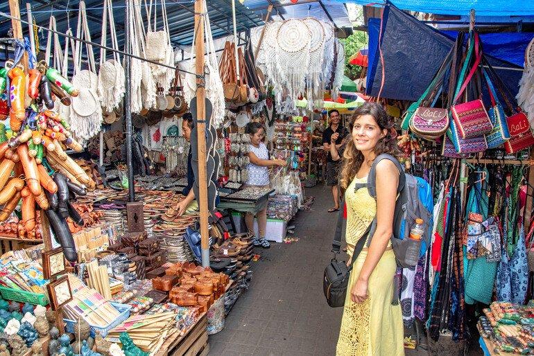 Visitar el Mercado de Ubud - Que hacer en Ubud