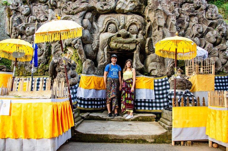 Templo Goah Gajah - Que hacer en Ubud