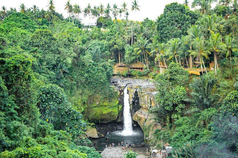 Catarata de Tegenungan - Que hacer cercad de Ubud