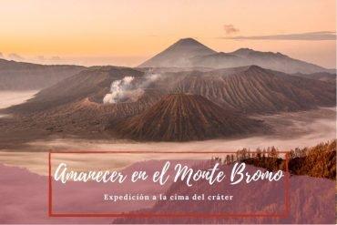 Amanecer en el Monte Bromo - Pasaporte a la Tierra