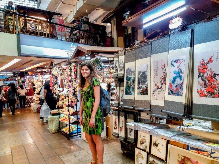 Central Market - Que ver en Kuala Lumpur