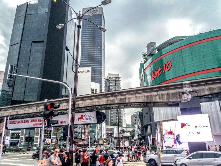 Centros comerciales - Que ver en Kuala Lumpur