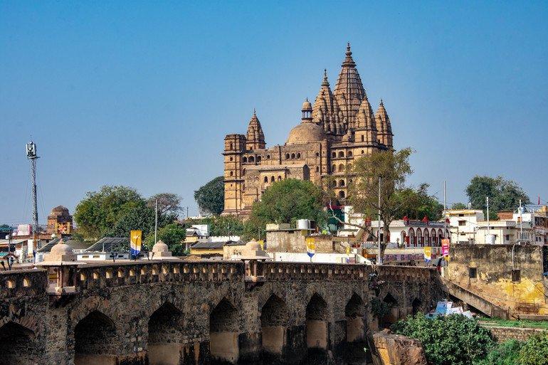 Chaturbuj Temple - Que ver en Orchha
