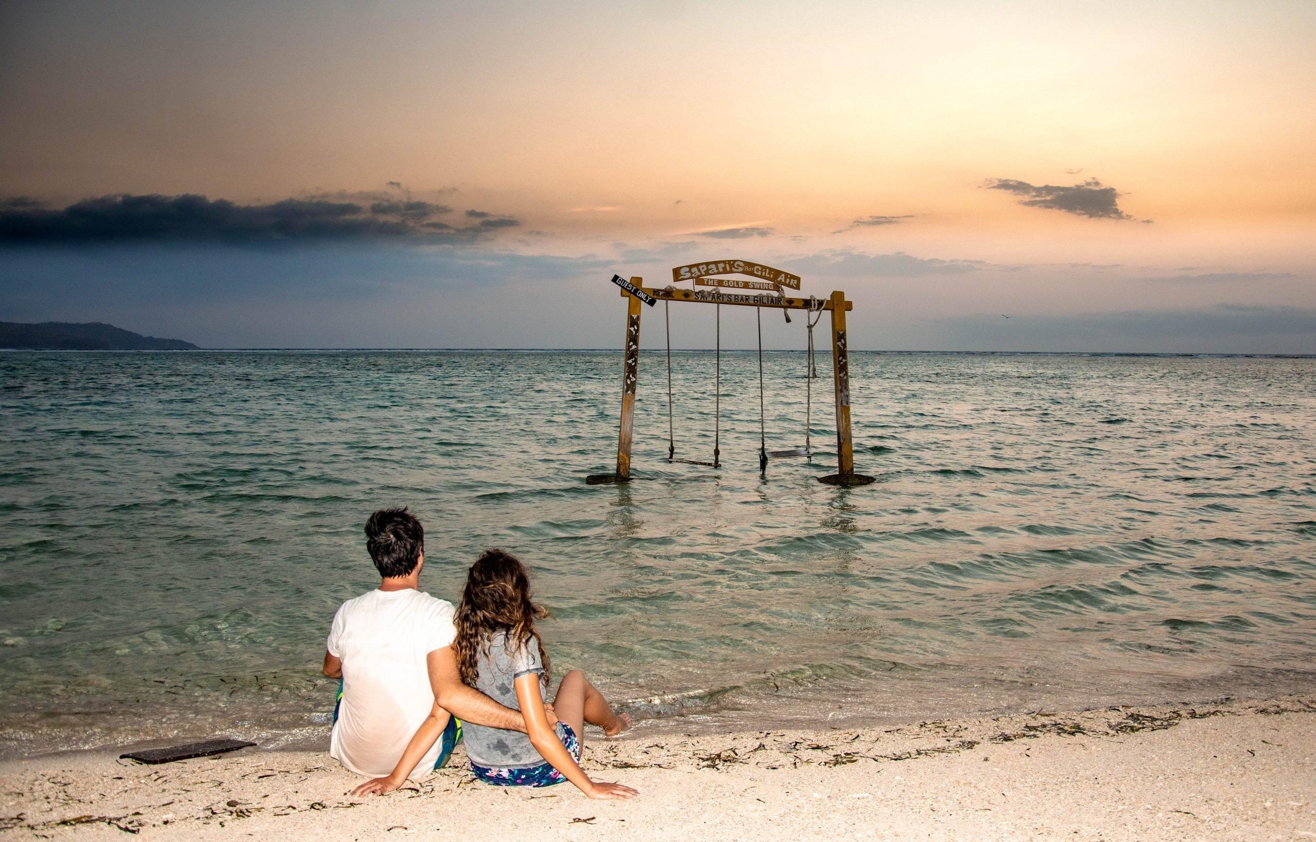 Columpios en islas Gili - Indonesia