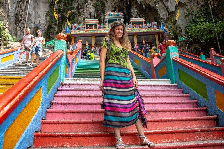 Puerta principal Batu Caves Kuala Lumpur