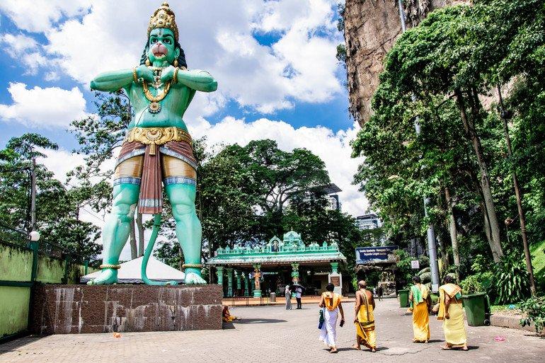 Dios mono - Batu Caves Kuala Lumpur