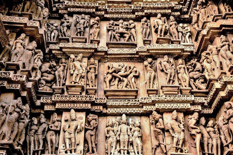Khajuraho cerca de Panna
