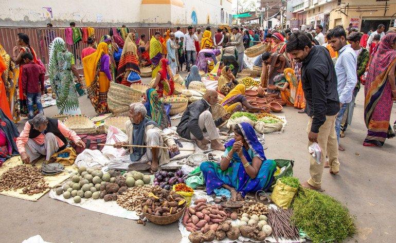 Orchha Market - Que ver en Orchha