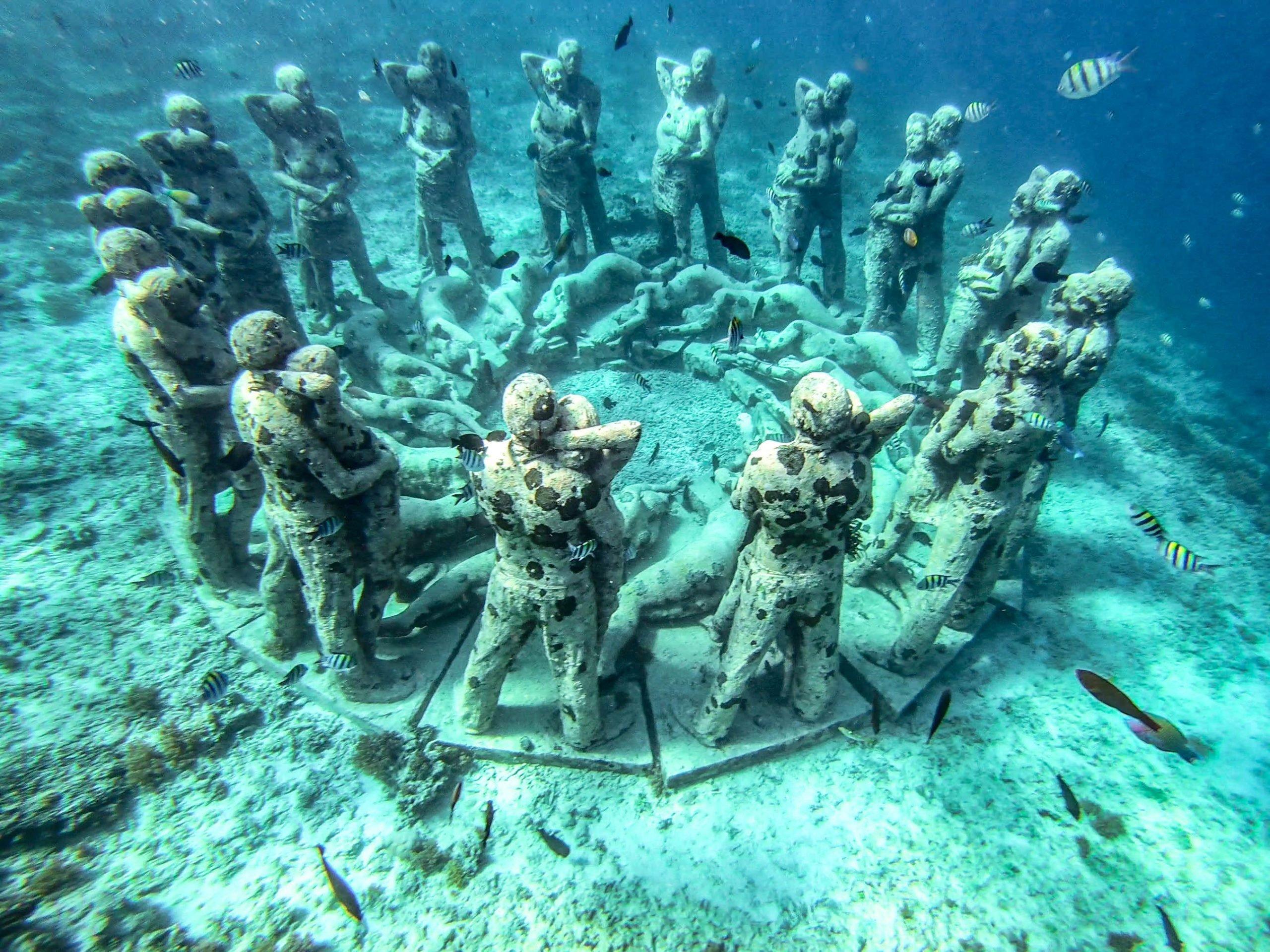 Nest Sculpture - Islas Gili Indonesia