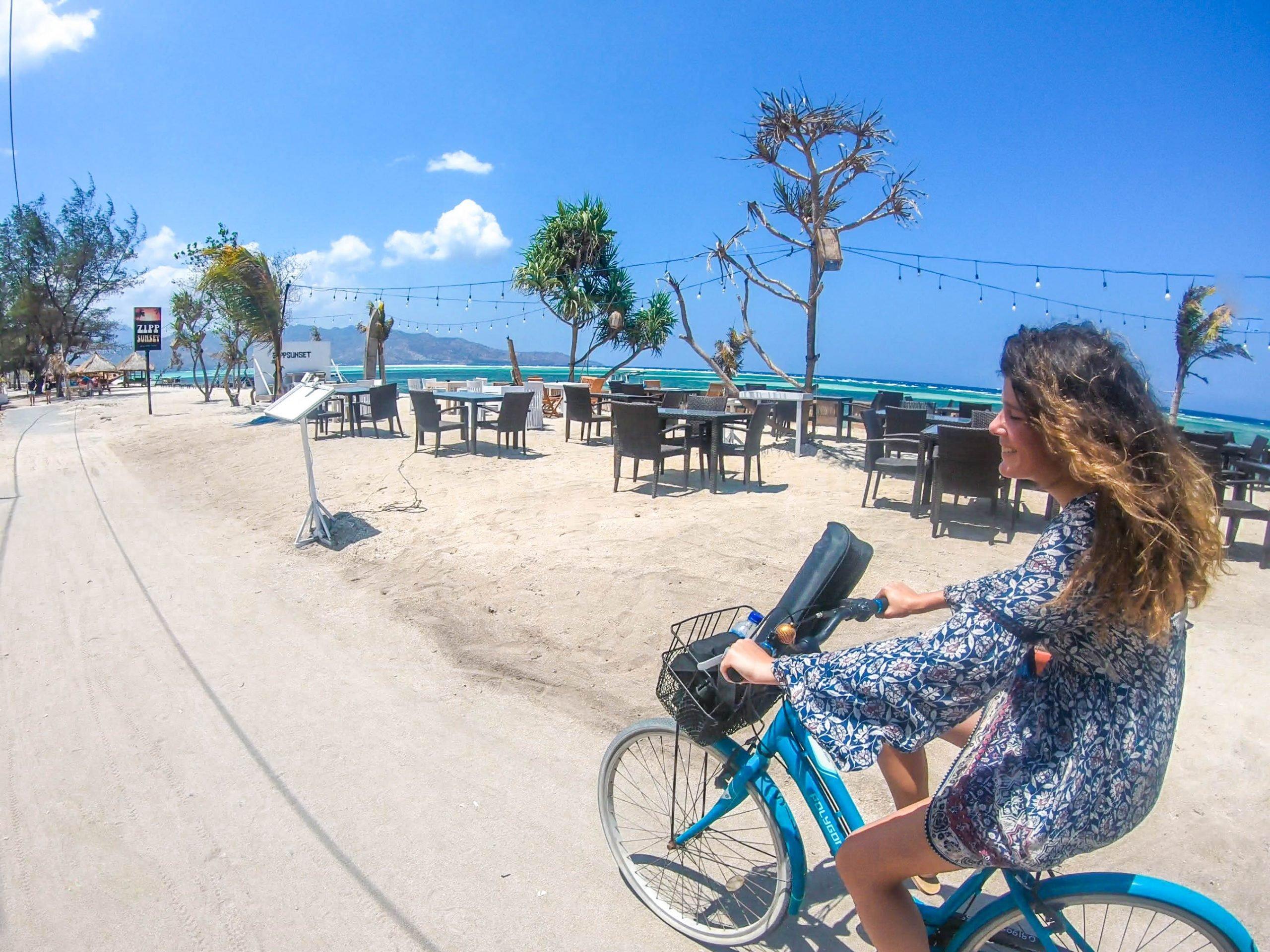 Recorre islas Gili en bicicleta - Indonesia