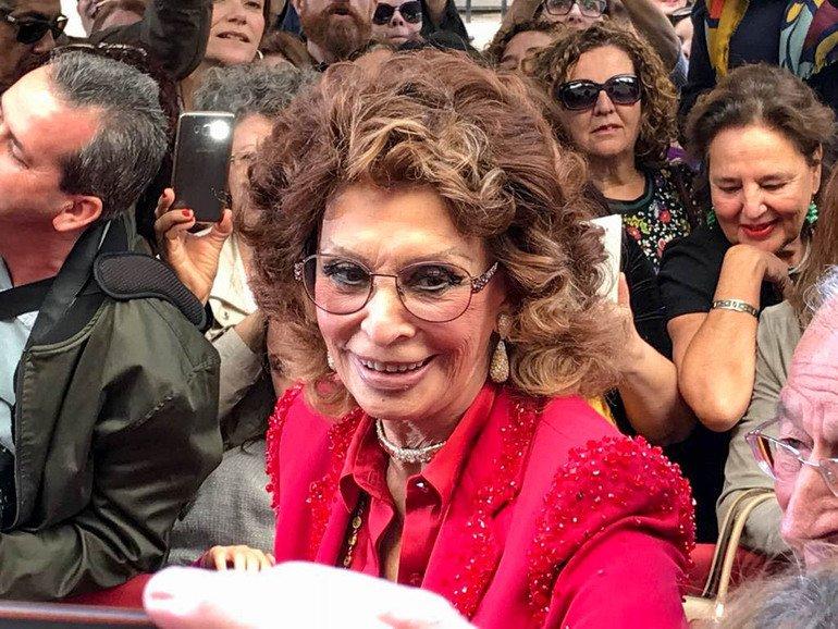 Sophia Loren - Paseo de la Fama de Almería