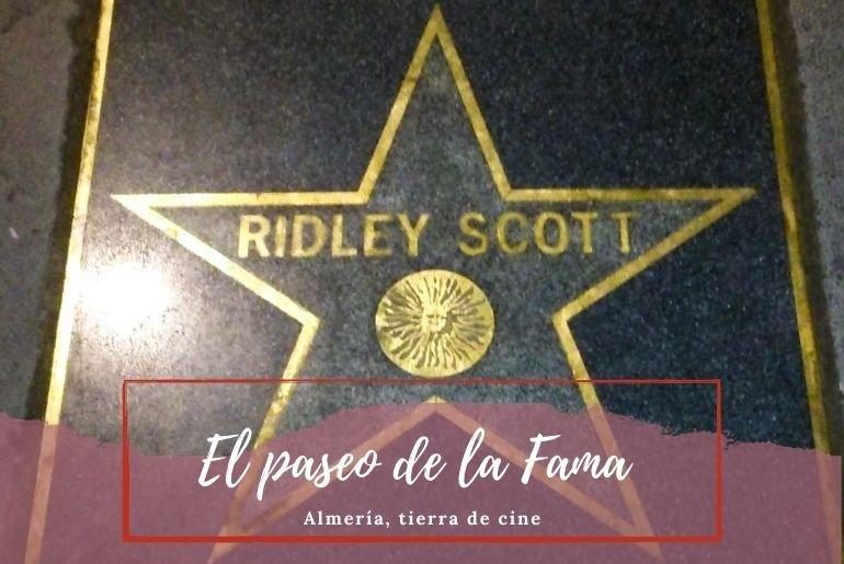 Paseo de la Fama de Almería - Pasaporte a la Tierra