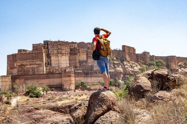Rao Jodha Desert Rock Park - Que ver en Jodhpur