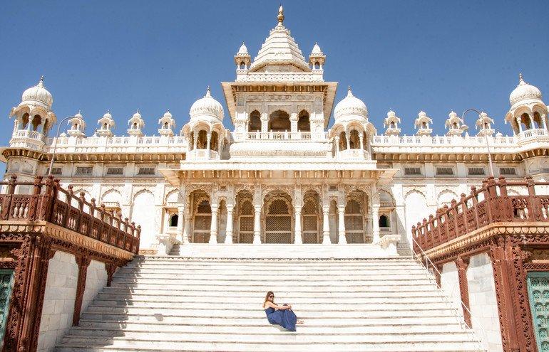 Mausoleo de Jaswant Thada - Que ver en Jodhpur