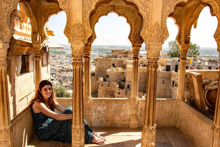 Fuerte de Jaisalmer India