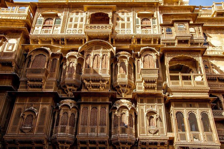 Haveli Jaisalmer India