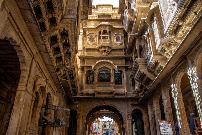 Haveli en Jaisalmer India