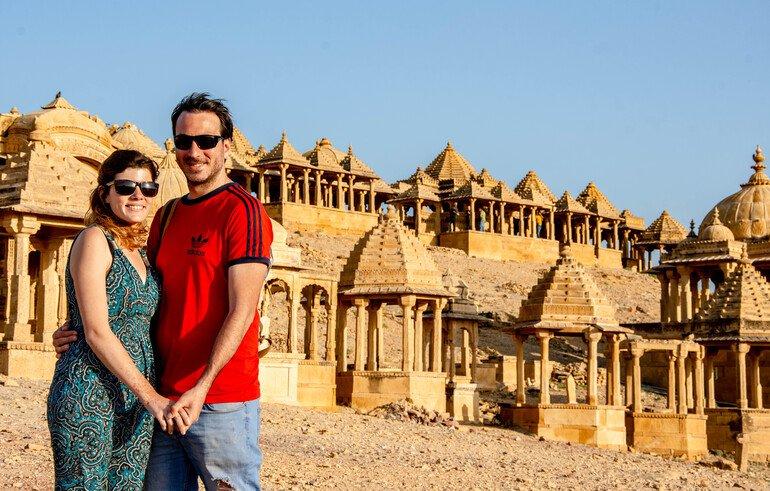 Cenotafios Jaisalmer India
