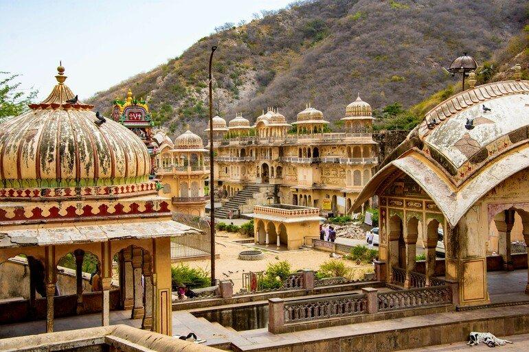 Monkey Temple - Que ver en Jaipur