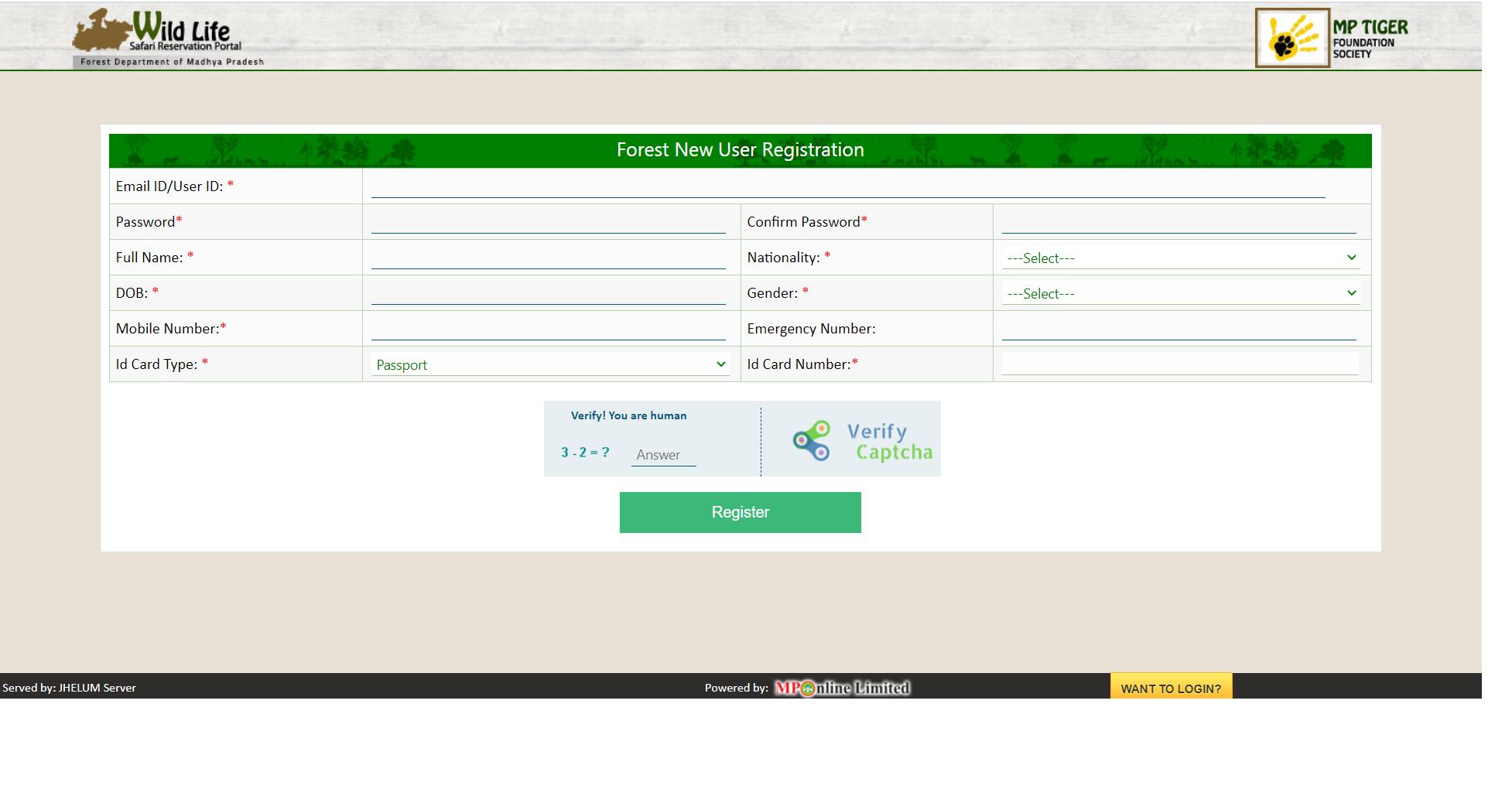 Comprar entradas al Parque Nacional deBandhavgarh - India