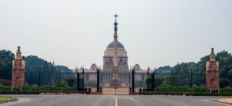 Residencia Presidencial - Que ver en Delhi