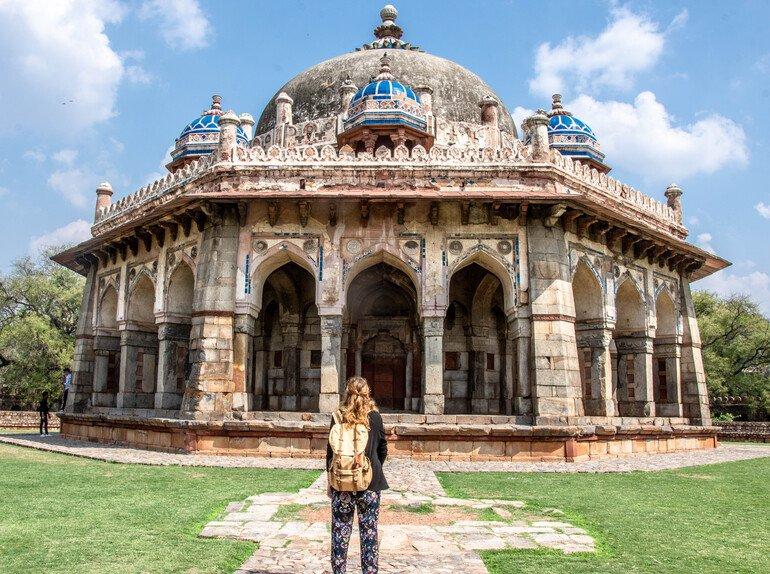 Que ver en Delhi - La Tumba de Humayun