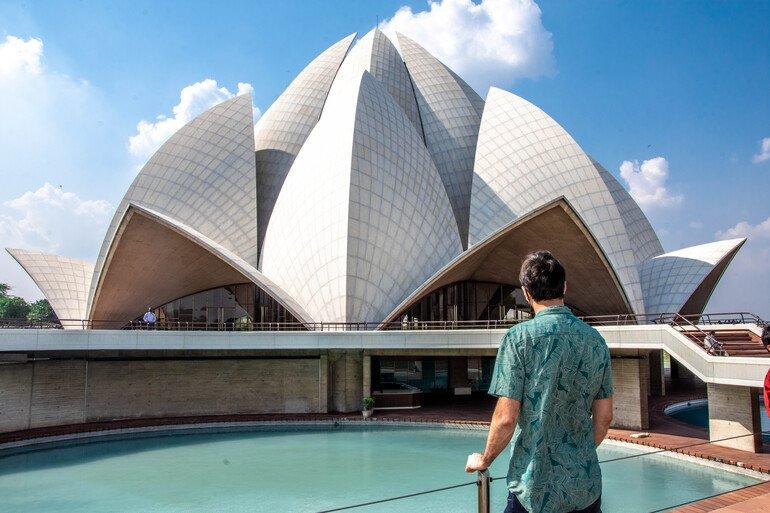 Lotus Temple - Que ver en Delhi