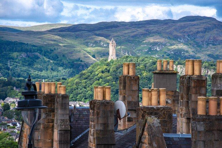 Vistas desde el Castillo - Que ver en Stirling