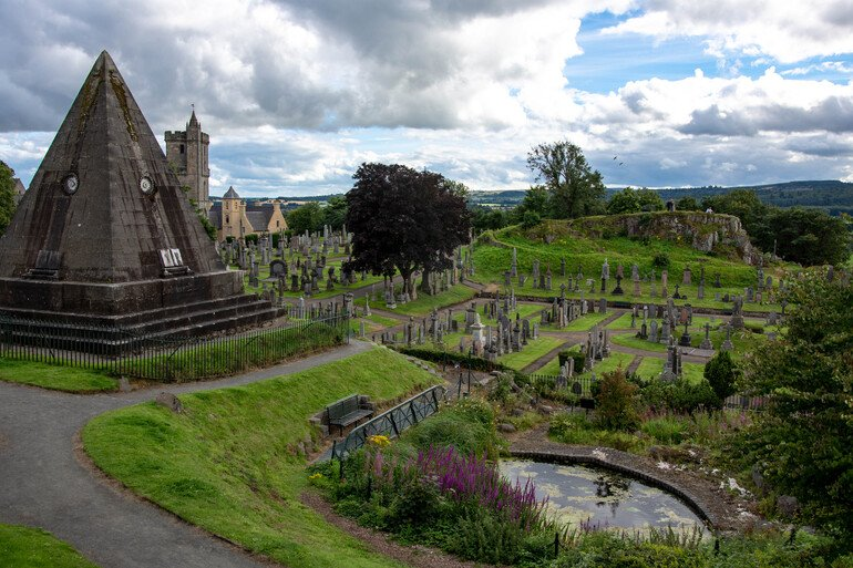 Old Town Cemetery - Que ver en Stirling