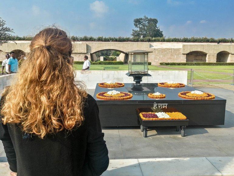 El memorial Raj Ghat - Que ver en Delhi
