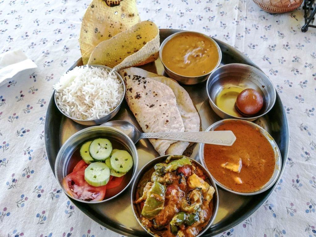 Mini bufet - Comida típica india