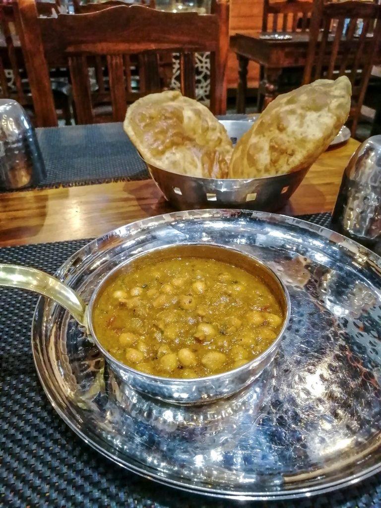 Chole bhatura - Comida típica de India
