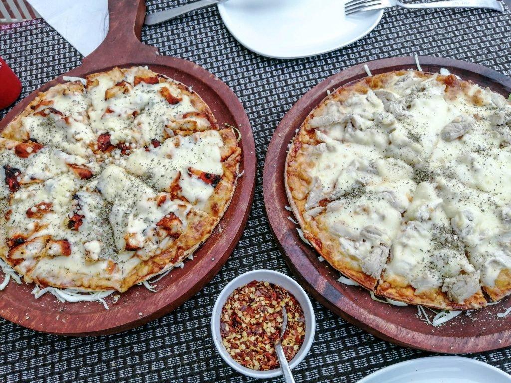 Comida italiana en India