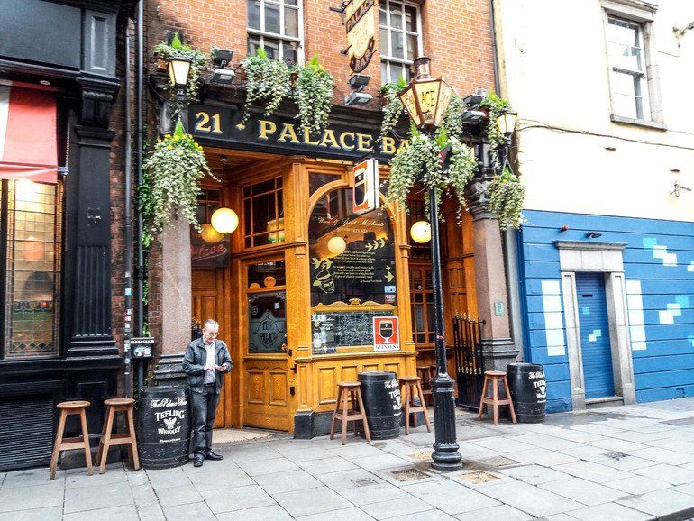 The Palace Bar - Ruta por The Temple Bar