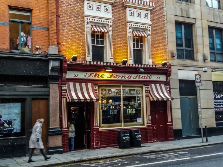 The Long Hall - Ruta por The Temple Bar