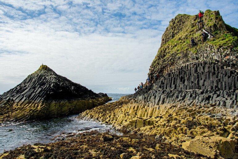 Visita a la isla de Staffa y Lunga