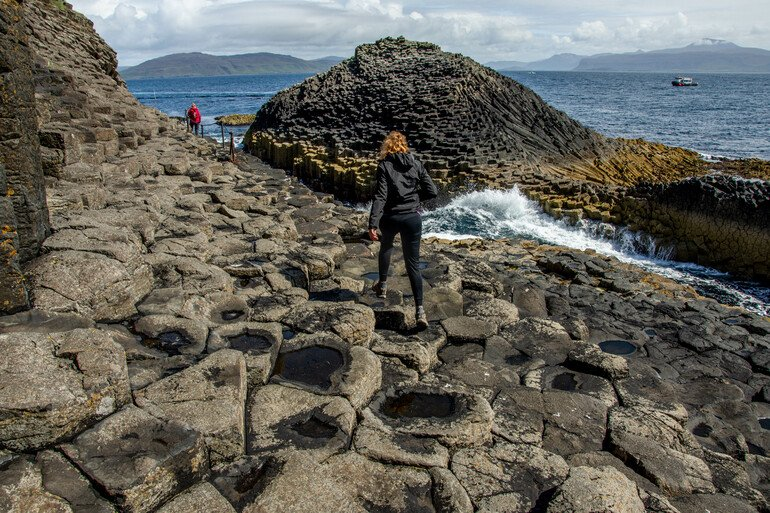 Fingals Cave - Staffa y Lunga