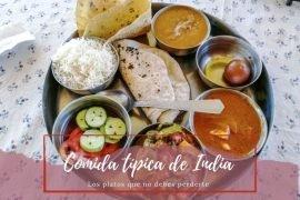 Comida típica de India