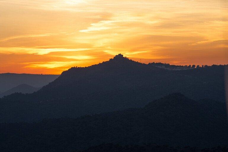 Atardecer en Sierra de Andújar