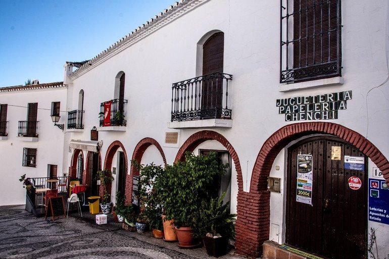 Calle Real - Que ver en Frigiliana