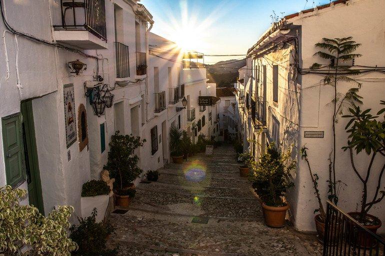 Calles más bonitas de Frigiliana